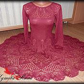 Одежда ручной работы. Ярмарка Мастеров - ручная работа Рубиновый вальс. Handmade.