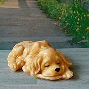 Косметика ручной работы handmade. Livemaster - original item Soap Sleeping dog. Handmade.