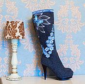 """Обувь ручной работы. Ярмарка Мастеров - ручная работа Валенки - Сапожки  """"Мечты"""". Handmade."""