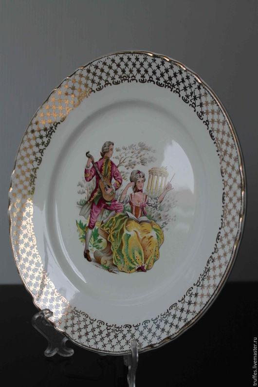 Винтажная посуда. Ярмарка Мастеров - ручная работа. Купить Декоративная тарелка, Франция, винтажная посуда, французский фарфор. Handmade.