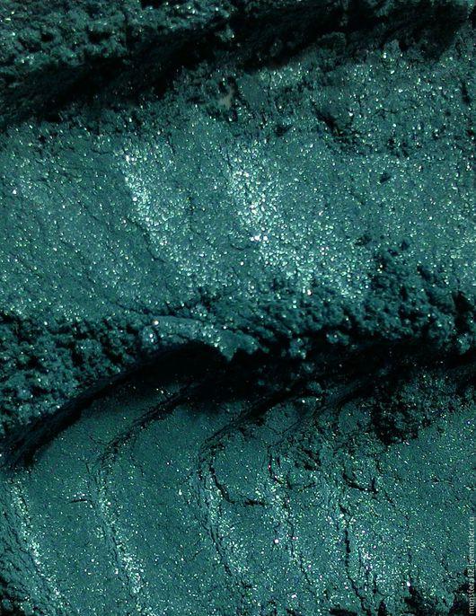 """Декоративная косметика ручной работы. Ярмарка Мастеров - ручная работа. Купить """"Морская Волна"""" сатиновые минеральные тени для век.. Handmade."""
