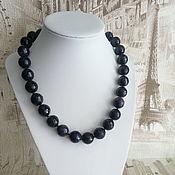 Украшения handmade. Livemaster - original item The necklace of purple agate Lady. Handmade.