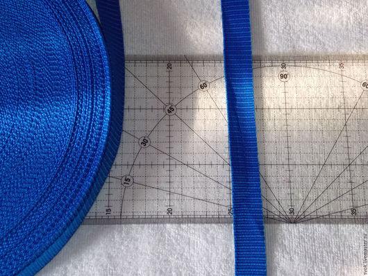Шитье ручной работы. Ярмарка Мастеров - ручная работа. Купить Стропа, ременная лента, 25 мм,  синий. Handmade. Оливковый