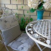 Для дома и интерьера ручной работы. Ярмарка Мастеров - ручная работа Подушки для стула. Toile de Jouy прованс. Handmade.