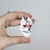 Украшения handmade. Livemaster - original item Wolf Okami pendant. Handmade.
