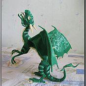 Куклы и игрушки ручной работы. Ярмарка Мастеров - ручная работа Изумрудный Дракон. Handmade.