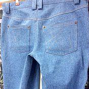 Одежда ручной работы. Ярмарка Мастеров - ручная работа Джинсы голубые. Handmade.