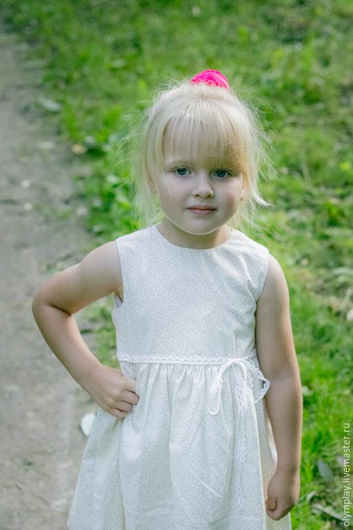 Одежда для девочек, ручной работы. Ярмарка Мастеров - ручная работа. Купить Платье - ручная работа (200384). Handmade. Лимонный, подарок