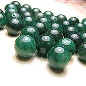 Материалы для творчества handmade. Livemaster - original item Aventurine green 10 mm. Handmade.