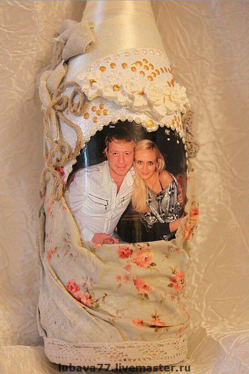 Свадебные аксессуары ручной работы. Ярмарка Мастеров - ручная работа. Купить Подарок на льняную свадьбу. Handmade. Льняная свадьба, фото