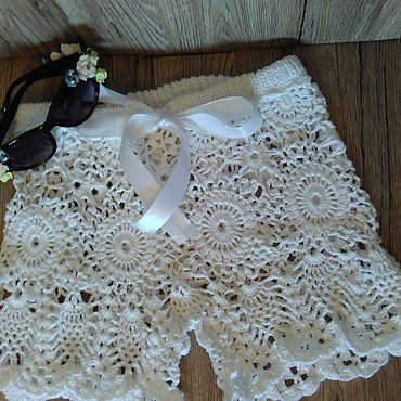 Одежда ручной работы. Ярмарка Мастеров - ручная работа Шорты: Летние шорты. Handmade.