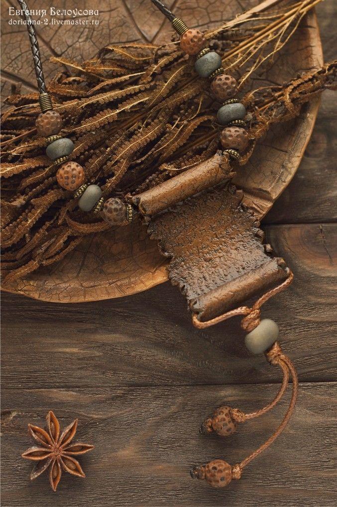 """Кулон """"Древний свиток-2"""" (полимерная глина, артефакт, древность), Подвеска, Барнаул,  Фото №1"""