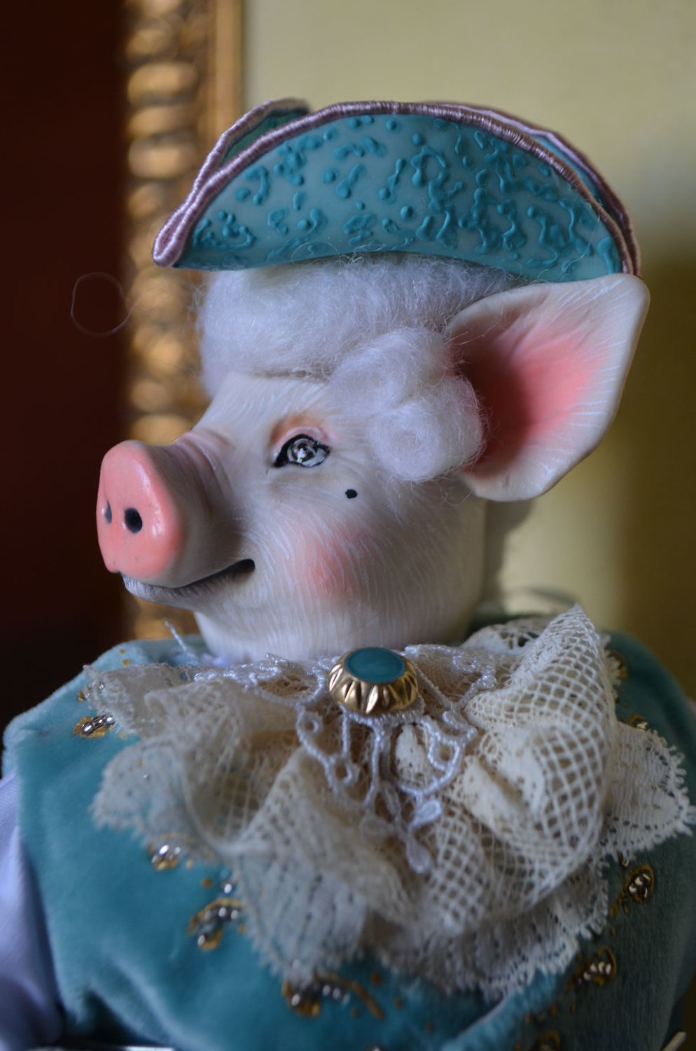 Author S Doll Monsieur Pig Shop Online On Livemaster With Shipping