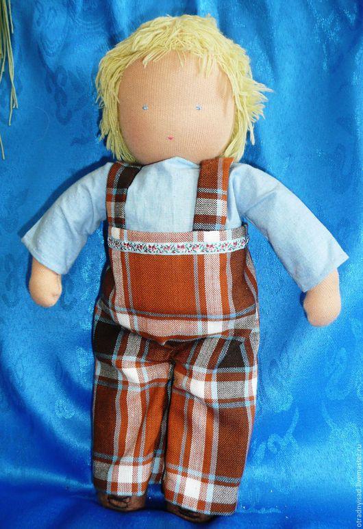 Вальдорфская игрушка ручной работы. Ярмарка Мастеров - ручная работа. Купить шитая кукла Юкка. Handmade. Вальдорфская кукла