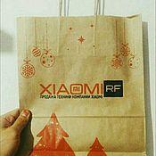Упаковка ручной работы. Ярмарка Мастеров - ручная работа Крафт пакет с логотипом #3. Handmade.