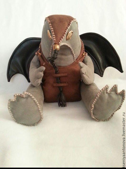 Коллекционные куклы ручной работы. Ярмарка Мастеров - ручная работа. Купить Дракон из игры. Handmade. Комбинированный, персонаж, холлофайбер