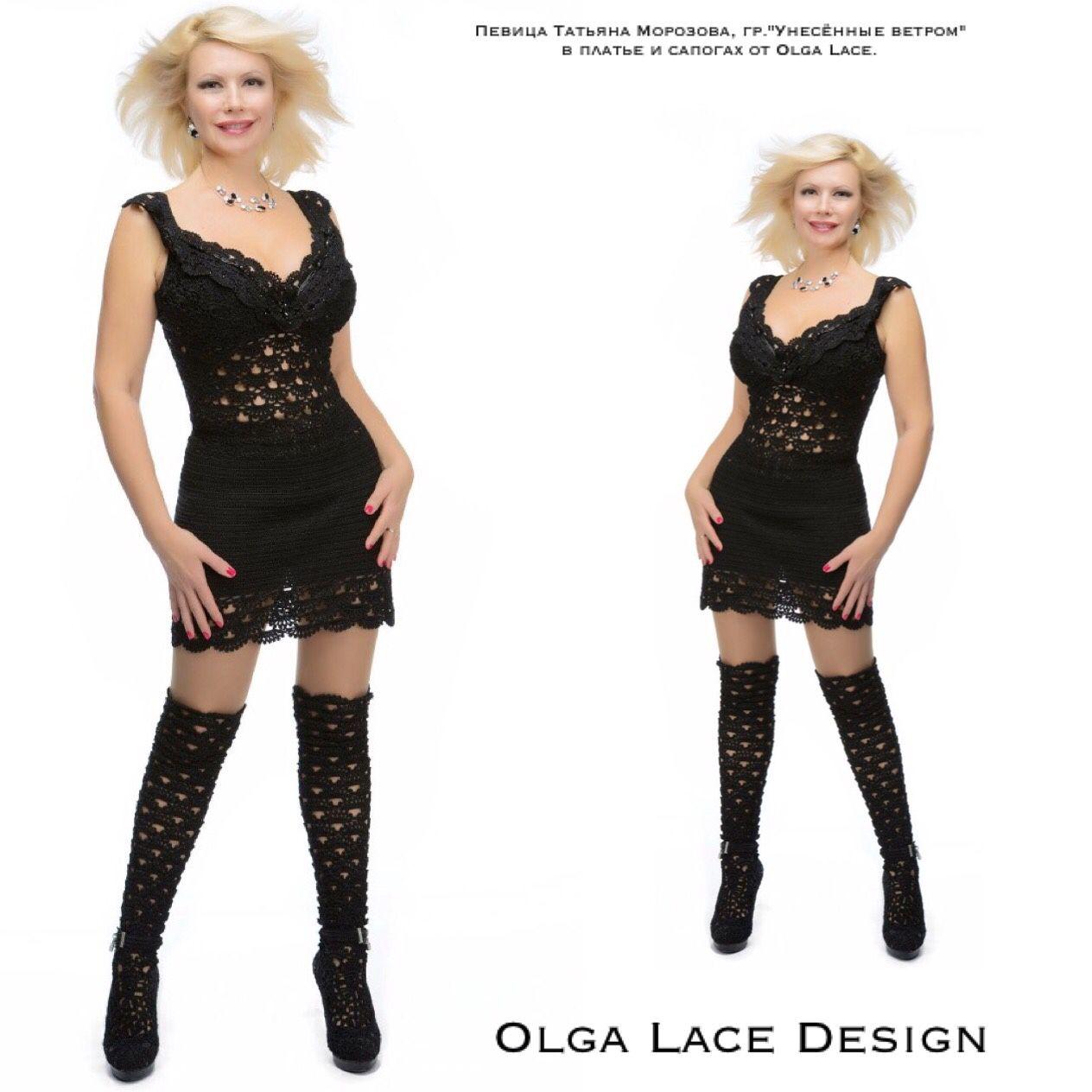 Dresses handmade. Livemaster - handmade. Buy Knit dress from Olga Lace.Lace, designer clothes, pearls swarovski (swarovski)