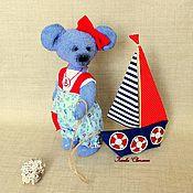 """Куклы и игрушки ручной работы. Ярмарка Мастеров - ручная работа Мышка тэдди """"Маринка"""". Handmade."""