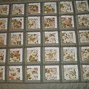 Для дома и интерьера ручной работы. Ярмарка Мастеров - ручная работа Лоскутное покрывало  одеяло  Прохоровская роза. Handmade.