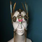 Диадемы ручной работы. Ярмарка Мастеров - ручная работа Украшение на голову в стиле Burning Man. Handmade.