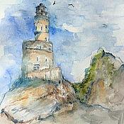 Картины и панно handmade. Livemaster - original item Lighthouse Bay. Handmade.