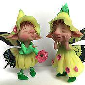 Куклы и игрушки ручной работы. Ярмарка Мастеров - ручная работа Весенние эльфы. Handmade.