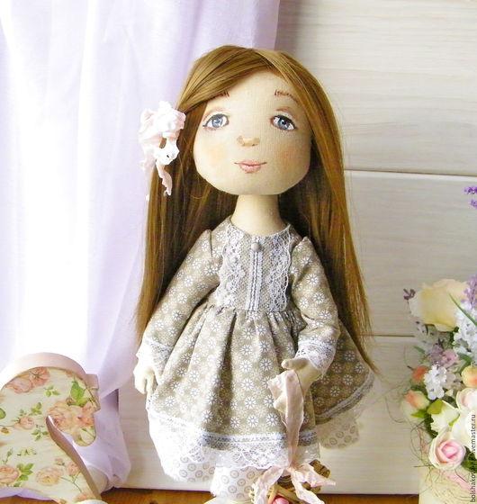 Коллекционные куклы ручной работы. Ярмарка Мастеров - ручная работа. Купить Соня. Handmade. Белый, кукла текстильная, текстильная кукла