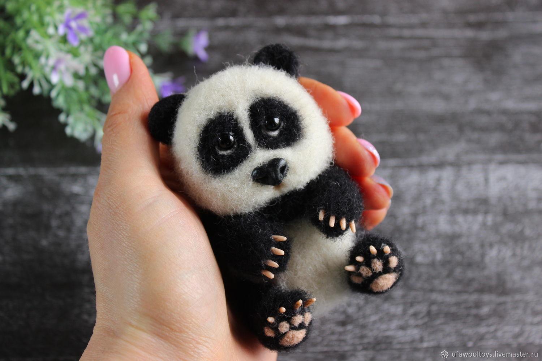 Панда, Мягкие игрушки, Уфа,  Фото №1