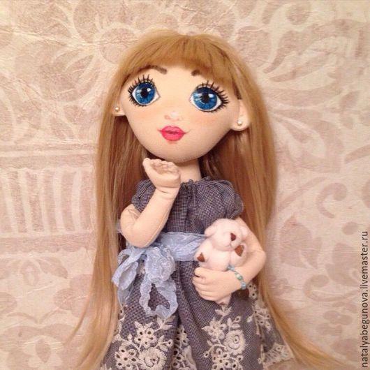 Коллекционные куклы ручной работы. Ярмарка Мастеров - ручная работа. Купить Текстильная кукла. Handmade. Кукла, натуральный хлопок