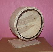 Для домашних животных, ручной работы. Ярмарка Мастеров - ручная работа Беговое колесо для шиншиллы. Handmade.
