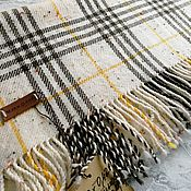 handmade. Livemaster - original item Scarves: Handmade Merino woven scarf. Handmade.