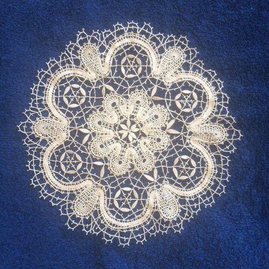 Текстиль, ковры ручной работы. Ярмарка Мастеров - ручная работа. Купить Кружевная салфетка 25:25. Handmade. Кружево, кружево мулине