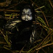 """Художественная  кукла """"dark moth"""""""
