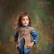Работы для детей, handmade. Livemaster - original item Felted vest for girls