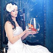 """Свадебный салон ручной работы. Ярмарка Мастеров - ручная работа Повязка на голову """"Искушение"""". Handmade."""