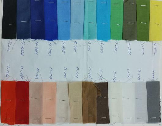 Шитье ручной работы. Ярмарка Мастеров - ручная работа. Купить Батисты (24 цвета) шелковые однотонные. Handmade. Батист, ткань