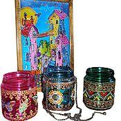 Для дома и интерьера handmade. Livemaster - original item Candlesticks, interior elements. Handmade.