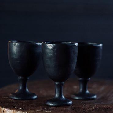 Посуда ручной работы. Ярмарка Мастеров - ручная работа Керамический бокал ручной лепки. Handmade.