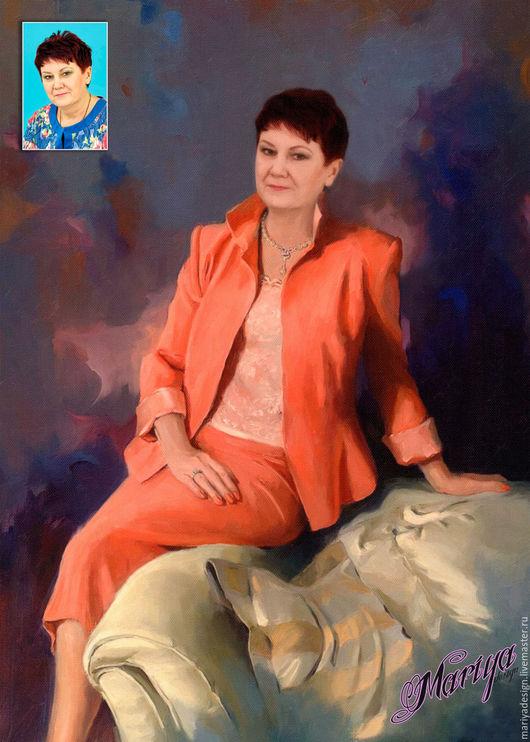 Фото-работы ручной работы. Ярмарка Мастеров - ручная работа. Купить Портрет по фото. Handmade. Коллаж, портрет, фотоколлаж