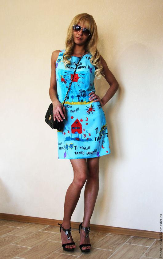 Платья ручной работы. Ярмарка Мастеров - ручная работа. Купить Платье в стиле Dolce & Gabbana. Ткань закончилась. Handmade.