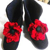 """Обувь ручной работы. Ярмарка Мастеров - ручная работа Валенки """"Кармен"""". Handmade."""