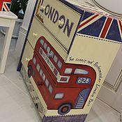 """Для дома и интерьера ручной работы. Ярмарка Мастеров - ручная работа Комод """"LONDON""""  (в подарок- 2 журнальницы). Handmade."""