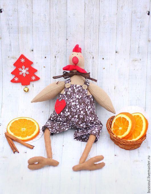 Новый год 2017 ручной работы. Ярмарка Мастеров - ручная работа. Купить Петух (символ 2017 года). Handmade.