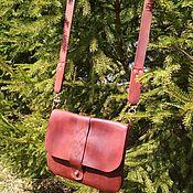 Классическая сумка ручной работы. Ярмарка Мастеров - ручная работа Женская повседневная сумка. Handmade.
