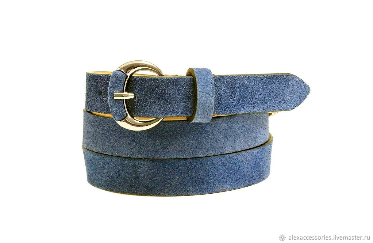 Copy of Copy of Copy of Yellow suede belt, Straps, Moscow,  Фото №1