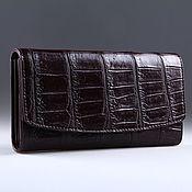 Сумки и аксессуары handmade. Livemaster - original item Wallet female crocodile IMA0004K4. Handmade.