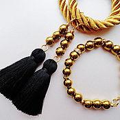 Украшения handmade. Livemaster - original item Earrings-brush