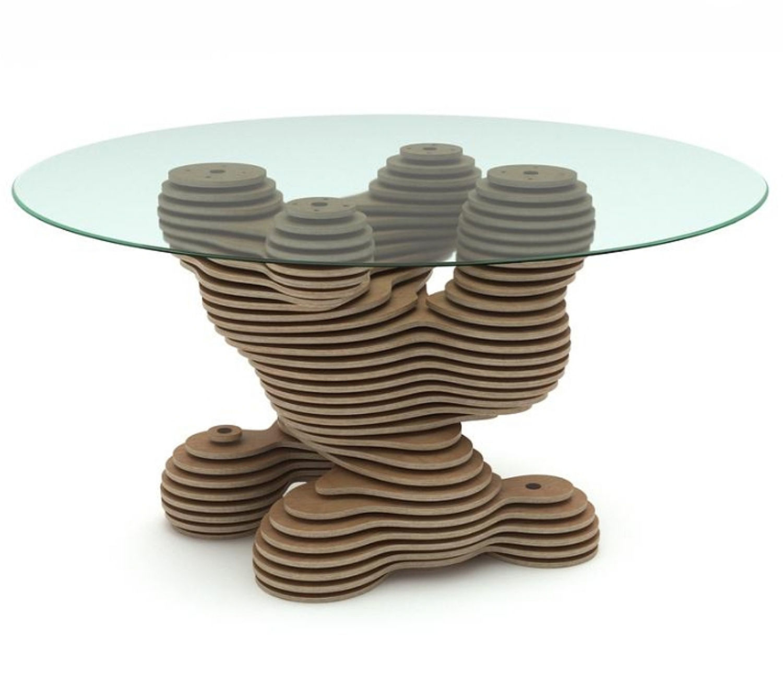 leg for table. Podstole. Table base.  Parametric table.  Parametric, Design, Ekaterinburg,  Фото №1