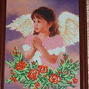 """Картины и панно ручной работы. Ярмарка Мастеров - ручная работа Картина """"Девочка с крыльями"""". Handmade."""