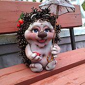 """Куклы и игрушки ручной работы. Ярмарка Мастеров - ручная работа Ежиха """"Смугляночка"""". Handmade."""